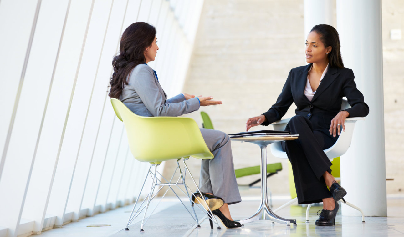 female mental expert on session with her client